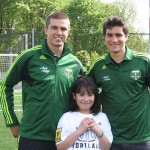 Timbers Players at Spring Frenzy