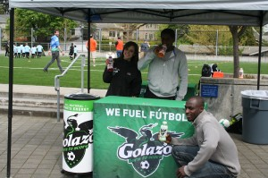 Golazo Tent at Spring Frenzy