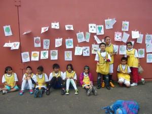 Kids at Soccer de Mayo